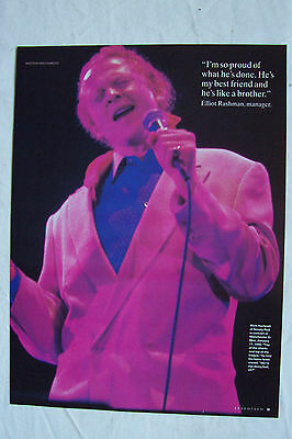MICK HUCKNALL (Simply Red) - 1992 Magazine Poster
