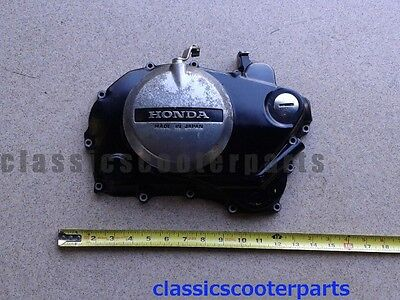 Honda 1985 CB450SC NIGHTHAWK engine case clutch side COVER h85-cb450sc-034