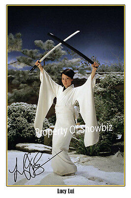 Kill Bill - Large Autographed Signed Photo Poster Print - Lucy Liu