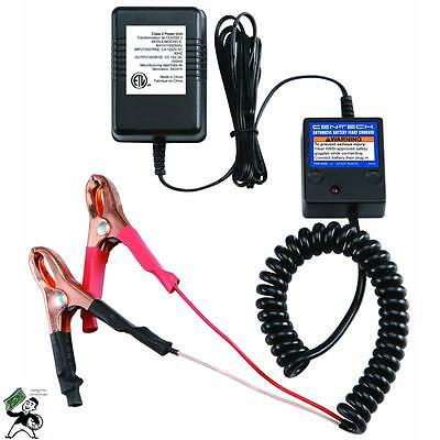 New 12v Volt Automatic Car Battery Float Trickle Charger