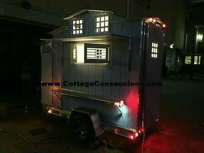 5x8 Food Concession Trailer