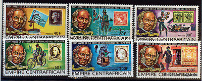 Empire Centrafricain  Timbres Sur Rowland Hill  Obliteres  Ad11