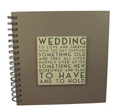 East Of India Wedding Guest Book Vintage Style Sumptuous Quality Pages