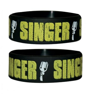*NEW* Band (Singer) Silicon / Rubber Wristband BY PYRAMID