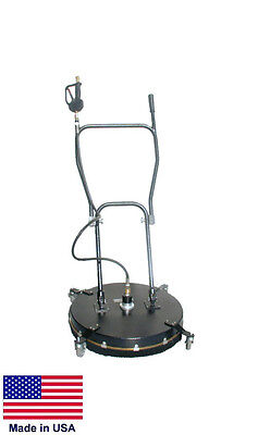 """PRESSURE WASHER SURFACE CLEANER - Commercial - 24"""" Cleaning Area - 4 to 10 GPM"""