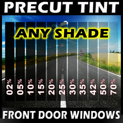 PreCut Film Front Door Windows Any Tint Shade VLT for Dodge Glass
