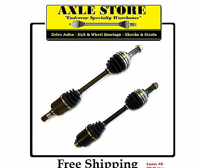 2 New Front CV Axles L&R 1994 - 2002 Millenia 2.5L Only With Warranty Free Ship