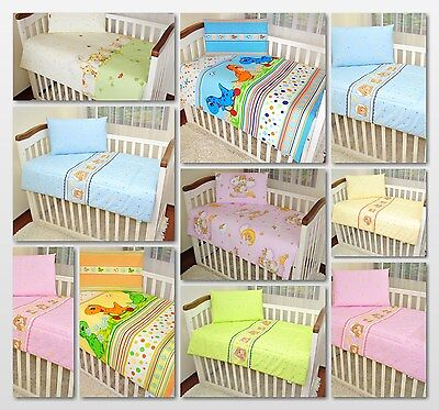 Quilt & Pillow 2 Piece Set / Baby NurseryCot Bedding 120x90