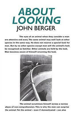 About Looking by John Berger (English) Paperback Book Free Shipping!