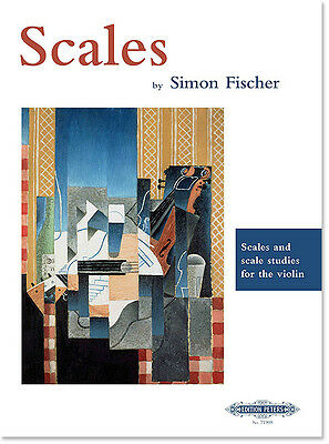Scales: Scales and Scale Studies for the Violin by Simon Fischer
