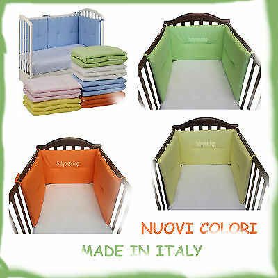 Paracolpi Letto Lettino Willy And Co Made In Italy Tanti Nuovi Colori 3 Lati