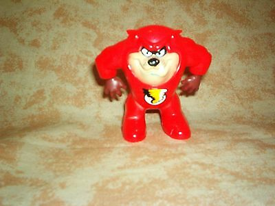 Great Tasmanian  Devil Tazz  In Red Devil Costume 2 1/ 2 In.  Wb  Figure !