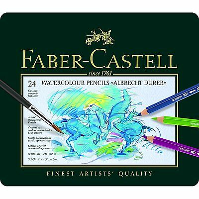 Faber Castell Albrecht Durer- Artists Quality Watercolour Pencils - 24 Set