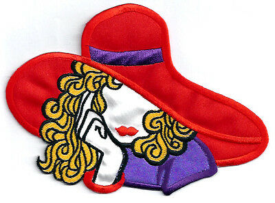 Queen Purple /& Red Iron On Applique Patch Red Hat Society Crown AP