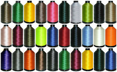 Strong Bonded Nylon Thread 40's, 3000Mtr, Upholstery Assorted Colours, Free P&p