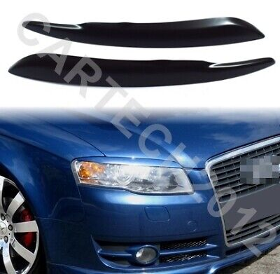 AUDI A4 B7 2004-2007 eyebrows,ABS PLASTIC, spoiler, tuning
