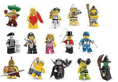LEGO SERIES 2 MINIFIGURES - CHOOSE THE ONE YOU NEED *NEW* SERIES 1-9 IN STOCK