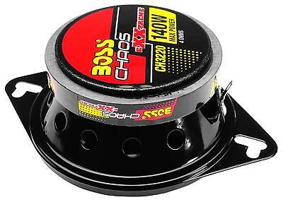 Boss Ch3220 Car Speaker 3 1//2Inch 2Way Chaos Extreme Polycon