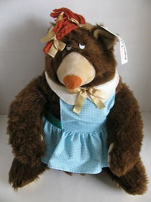 RARE Vintage Atlanta Novelty Gerber Mrs Groundhog Stuffed Animal with Tag
