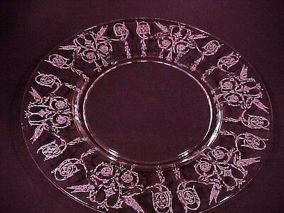 Elegant Crystal Harding Lunch / Salad Plate / Central Glass / 10 Available