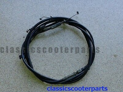 Honda 1976 GL1000 GOLDWING throttle gas cable cables set h76-gl1000-081