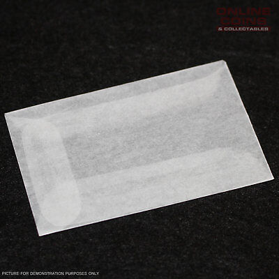Westvaco - Glassine Envelopes 5STK31 - Acid Free - 4.4cm x 7.2cm - Bundle of 100