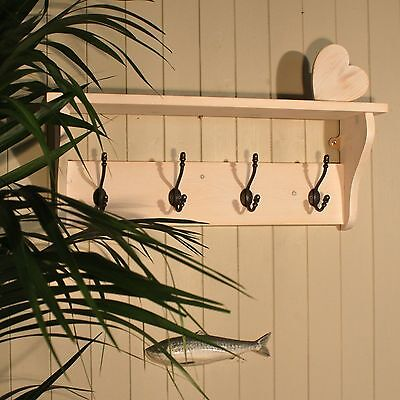 Hat and Coat Rack with a Shelf from The Good Shelf Company