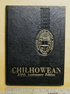 1980 Harrison Chilhowee Baptist Academy yearbook Seymour Tennessee TN 100th aniv
