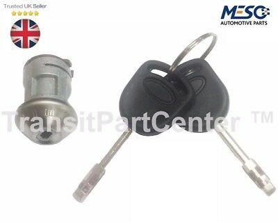 Ignition Lock Repair Kit (Barrel) 2 Keys Ford Transit Connect 2002 On