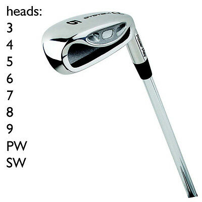 POWERPLAY System Q Iron Golf HEADS ONLY Set - 3 4 5 6 7 8 9 PW SW - GSET-I32702B