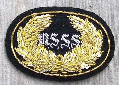 CIVIL WAR EMBROIDERED SLOUCH HAT PATCH U.S.S.S. SHAPSHOOTER SMALL
