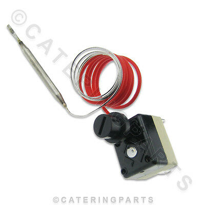Bench Top Fryer High Limit Safety Cut Out Thermostat 235°C Trip Manual Reset
