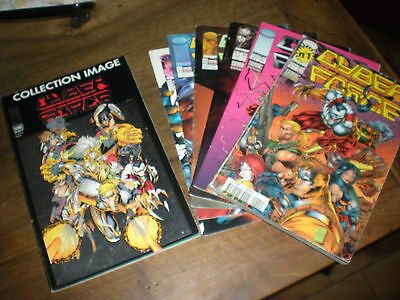 Cyber Force - Lot Des 8 Premiers Tomes + Collection Image N°1