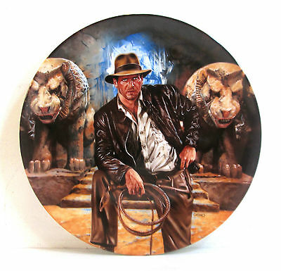 Indiana Jones And The Last Crusade Numbered Collector Plate