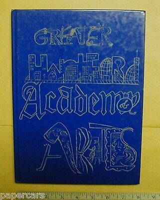 2001 Greater Hartford Academy of the Arts Yearbook Connecticut