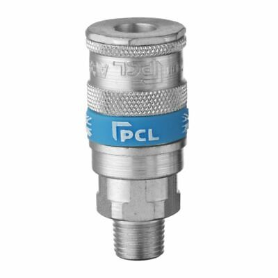 "Genuine PCL Vertex Air Line Hose Coupling Connector 1/4"" BSP Male"