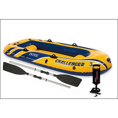 Intex Schlauchboot Set Challenger 3 68370NP