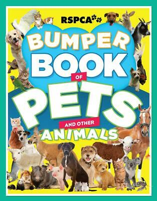 RSPCA Bumper Book of Pets by Lex Hirst (English) Paperback Book Free Shipping!