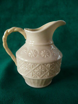 Belleek Ireland Irish Cleary Creamer Pitcher 1st Green Mark-1946-1955