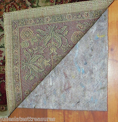 "2x3 Authentic Mohawk 20 Ounce Recycled Felt 1/4"" Thick Rug Pad- 2'x3' 24""x36"""