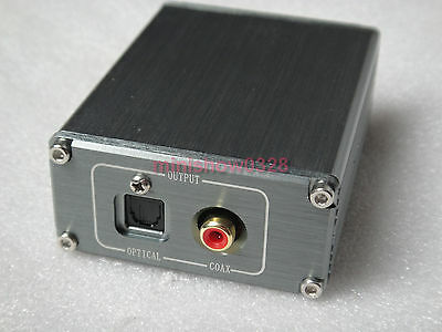 NEW CM6631A 24bit 192khz USB to Coaxial and Optical SPDIF I2S for audio