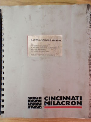 Cincinnati Milacron Vercipower Parts & Service Manual _ 23-GM-80142-2 _ 1981