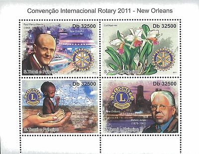 St. Thomas & Prince 2011 Stamp ST11202A Rotary INT Convention 2011, Organization