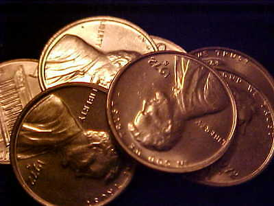 1972-S BU Original Roll of Lincoln Cents