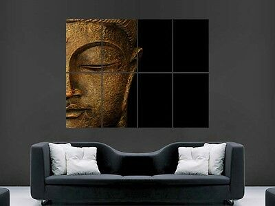 Budda Statue Poster Print Giant Wall Art Picture Image