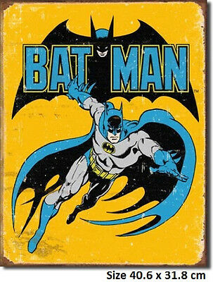 Batman Rustic  Metal Tin Sign 1357 Made In USA- Large Variety -  Post Discounts