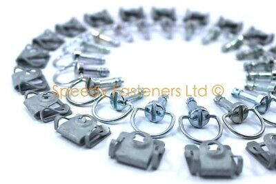R1 R6 Fairing Bolts Dzus Quick Release Fasteners D Ring x 2 6 12 18 Pack