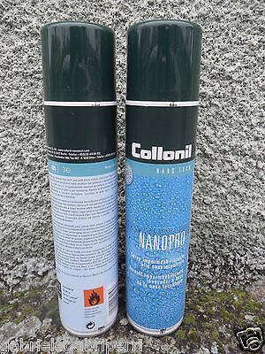 Collonil NANOPRO 300 ml.x2 Waterproofing Spray IMPERMEABILIZZANTE NANOTECNOLOGIA