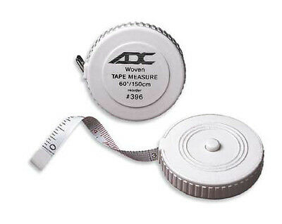 "ADC 396 Woven Push Button Tape Measure 60"" / 150cm Professional Medical New"