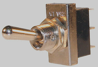12v On/Off/On Momentary  Spring  Return Toggle  Switch